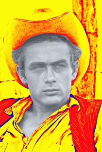 James Dean in Giant von Art Cinema Gallery