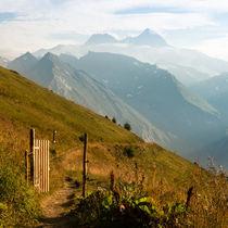 Tor zum großen Berg von Thomas Mertens