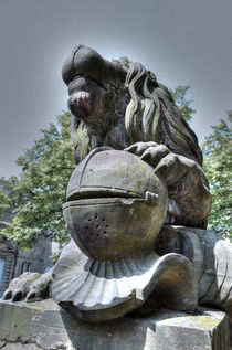 Statue-1 HDR by retina-photo