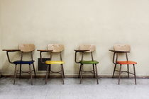 'Four Chairs in a Classroom (2013 Edit)' von Jeff Seltzer