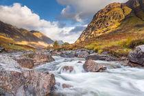 Sunlit River Coe by Richard Winn