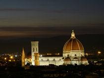 Dom Florenz bei Nacht von fabinator