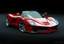 La Ferrari supercar restyled von Nikola Novak