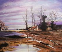 After The Storm (oils) by Rob Delves