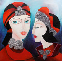 twinsisters by Lydia  Harmata