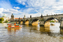 Charles Bridge in Prague by Michael Abid