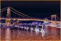 KWH - Brücke in Wilhelmhaven Art-Desing von michas-pix