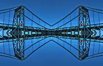 KWH - Brücke in Wilhelmhaven Spiegelung by michas-pix