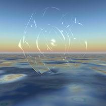 Blob Fraktal spukhaft, spooky Blob fractal von Frank Siegling