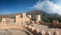 Nakhal Fort Oman by Norbert Probst