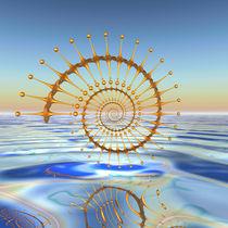Goldene Spirale von Frank Siegling