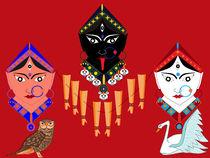 Three-great-goddesses