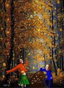 Herbsttreiben von Heidi Schmitt-Lermann