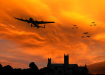 Lancaster Lincoln Sunset von James Biggadike