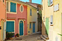 Late summer in Bormes Les Mimosas, Provence, France von 7horses