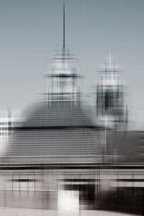 Gekreuzte Dächer  by Bastian  Kienitz