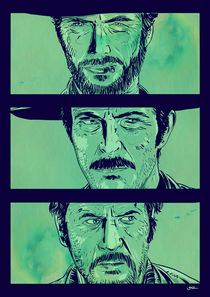 'The Good The Bad And The Ugly' by Giuseppe Cristiano
