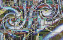 Arbeiten an der Fassade von Peter Norden