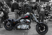 Harley Davidson custom  von Christopher Kelly
