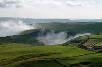 Low Lying Cloud in Winnats Pass by Rod Johnson