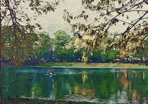 green lake by Anat  Umansky