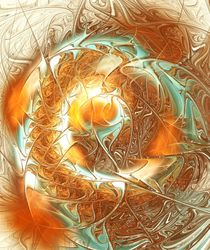 Golden Splash by Anastasiya Malakhova