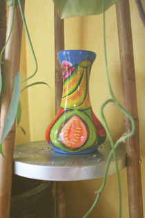 Rainbow Vase by Ashley Robertson