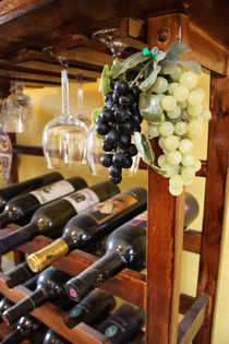 Wine Rack by Ashley Robertson