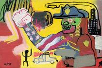 I stumbled upon a beating while living my imaginary American Dream by Zabu Stewart von Zabu Stewart
