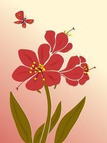 Amaryllis Flowers by Anastasiya Malakhova