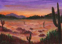 Arizona Desert von Anastasiya Malakhova