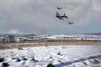 Battle of Britain Snow Scene von James Biggadike