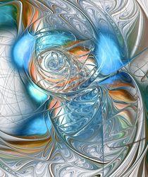 Blue Glass Fish by Anastasiya Malakhova