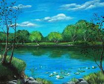 Blue Lake by Anastasiya Malakhova
