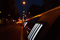 Limousine at night by karolingerin