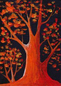 Bonfire Reflection by Anastasiya Malakhova