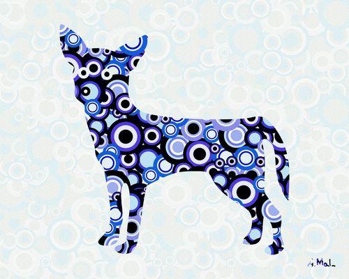 Chihuahua-animal-art-anastasiya-malakhova