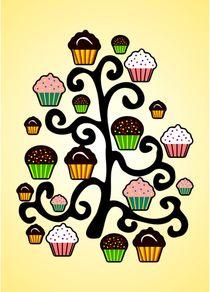 Cupcake Tree von Anastasiya Malakhova