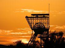 Sonnenuntergang im Revier by Marion Eckhardt