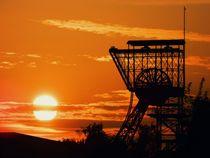 Sonnenuntergang im Ruhrgebiet von Marion Eckhardt