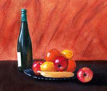 Fruits and Wine by Anastasiya Malakhova