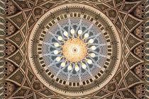 Sultan Qaboos Grand Mosque Ceiling von Norbert Probst