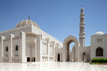 Sultan Qaboos Grand Mosque Muscat by Norbert Probst
