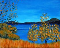 Golden Autumn von Anastasiya Malakhova