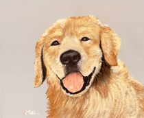 Golden Retriever von Anastasiya Malakhova