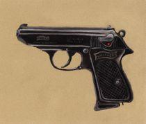 Gun - Pistol - Walther PPK by Anastasiya Malakhova