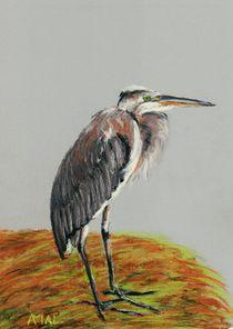 Heron by Anastasiya Malakhova