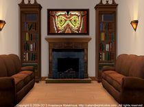 Interior Design Idea - Barn Owl von Anastasiya Malakhova