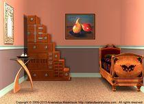 Interior Design Idea - Two Pears von Anastasiya Malakhova