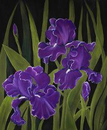 Irises von Anastasiya Malakhova